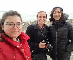 Ioana, Maggie and Lina