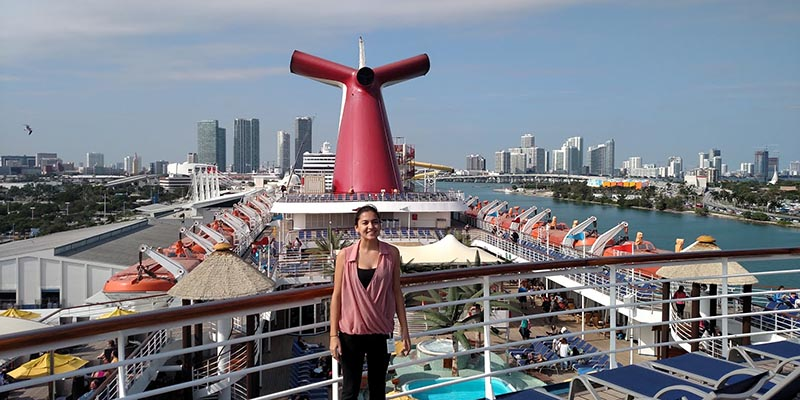 Bree - Carnival Cruise