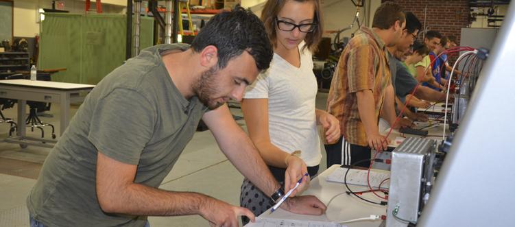 as electronics coursework
