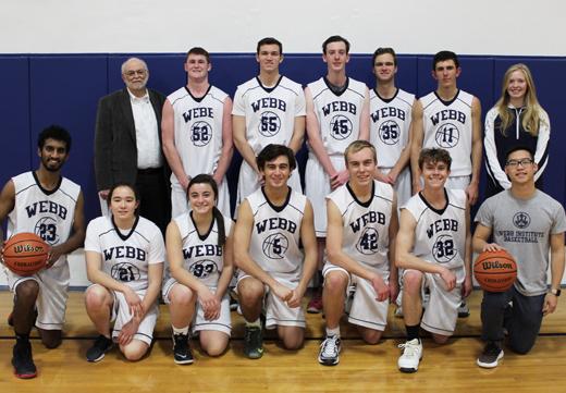Webb Basketball Team-2018