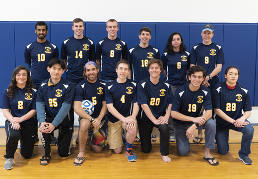 Webb Institute Soccer Team - 2018