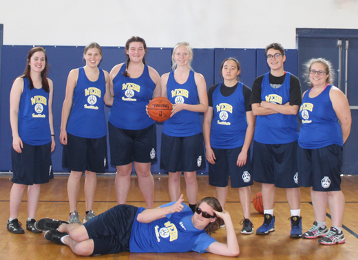 Womens Basketball Team - 2018