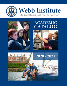 Webb-Institute-Catalog-2019-20 Cover