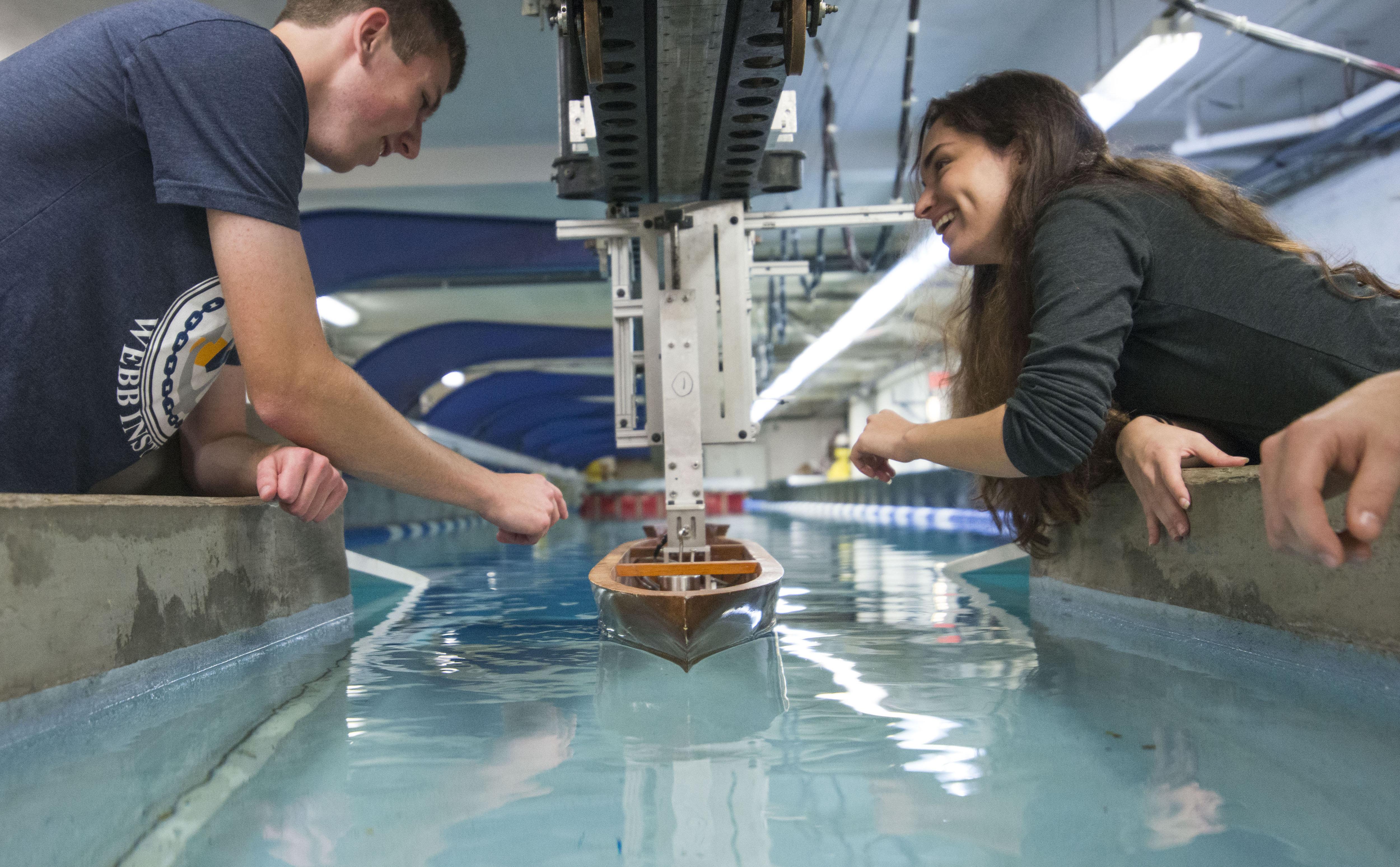 Webb-Institute-Model-Tank