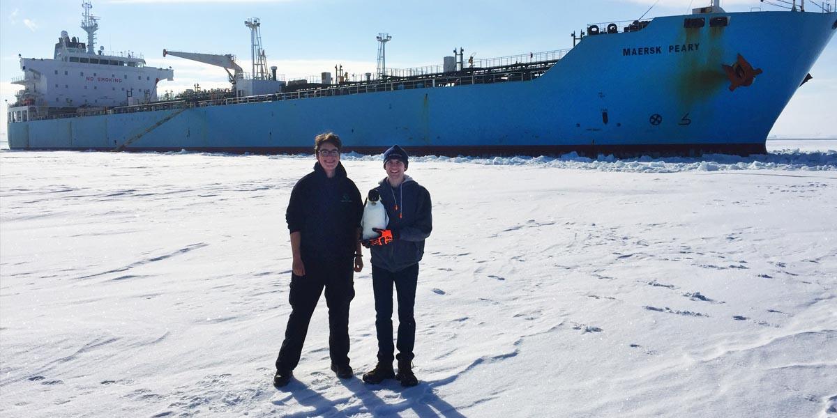 Winter Work Term in Antarctica