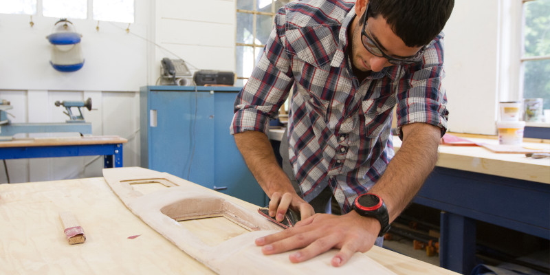 Webb Institute Woodshop