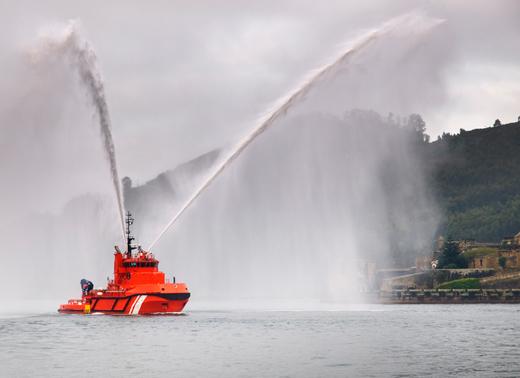 Salvage Tugboat