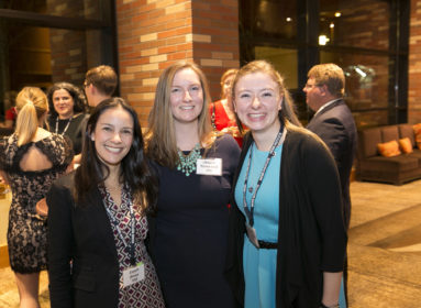 Members of the Class of 2008 at the 2016 Alumni Banquet in Seattle