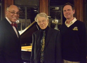 Dr. George Campbell, Jr., Dr. David Porter, and President R. Keith Michel.