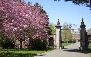 Webb Front Gate