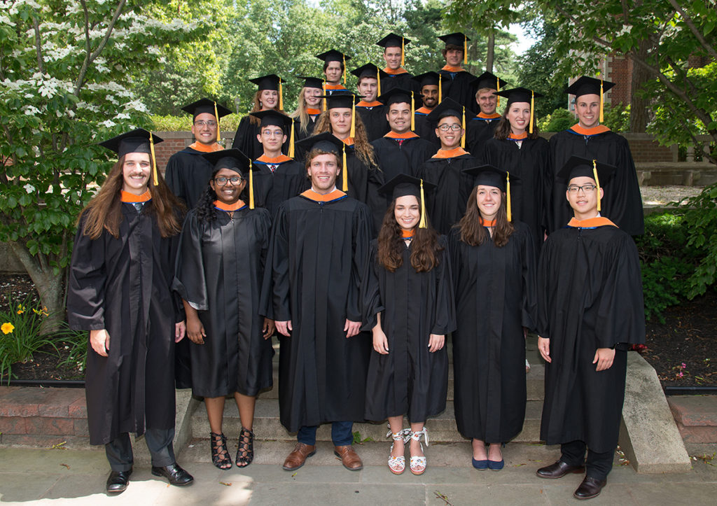 The Webb Institute Class of 2019.