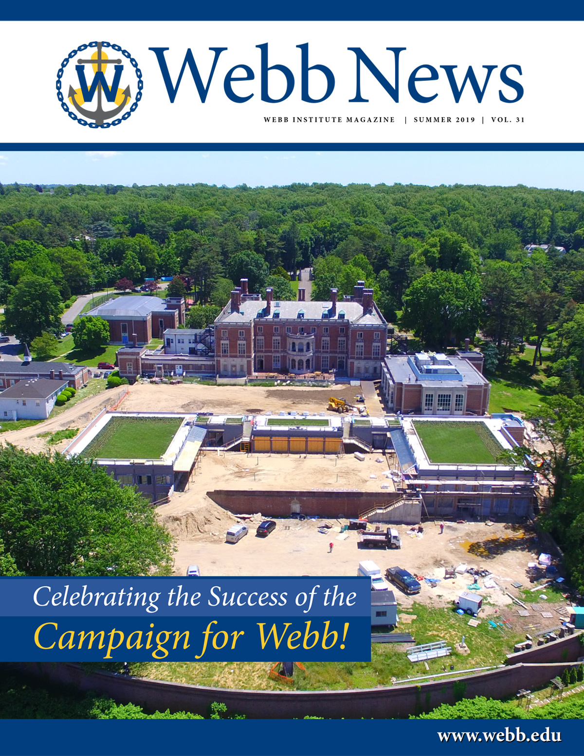 Webb News Summer-2019 cover
