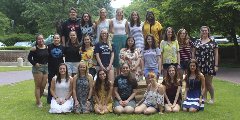 The Women of Webb, Spring 2019