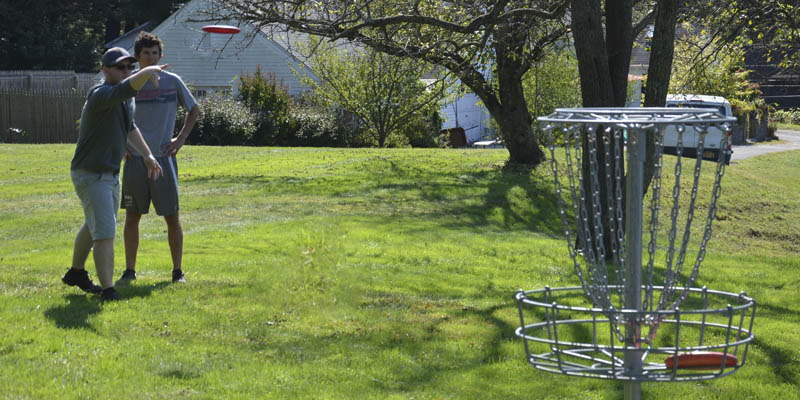 Webb Disc Golf Club