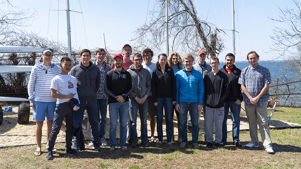 Webb Institute Sailing Team in 2019