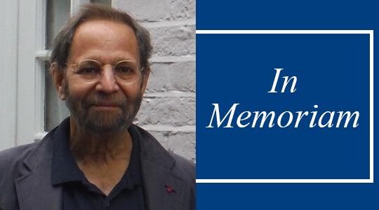 Professor Emeritus Alan L. Rowen