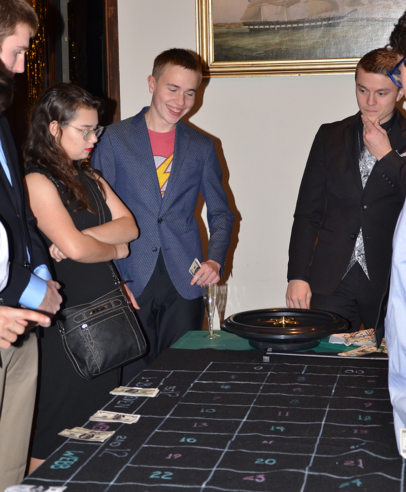 Roulette at Webb Casino Night