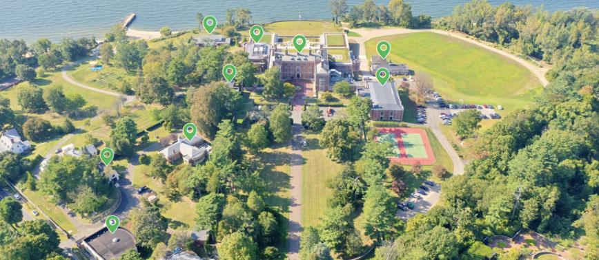 Webb Institute Campus Map 2021