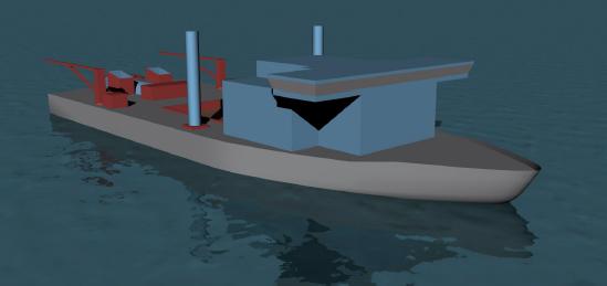 Inland Waterways Dredge