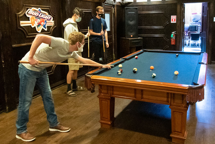 Pool Table in the Pub