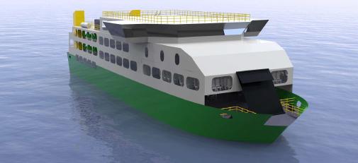 RoPax Ferry