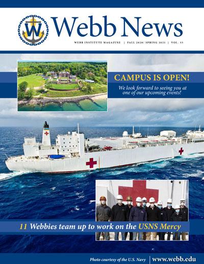 Webb News 2021 cover